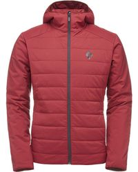 Black Diamond - First Light Insulated Hooded Jacket - Lyst