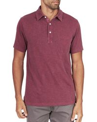 Faherty Brand - Sunwashed Polo Shirt - Lyst