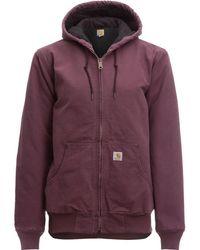 Carhartt - Sandstone Active Hooded Jacket - Lyst
