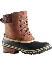 Sorel - Slimpack Lace Ii Shoe In Brown - Lyst