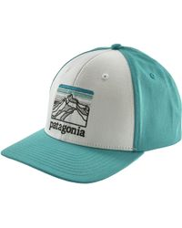 best website 1ab29 d9899 Patagonia - Line Logo Ridge Roger That Hat - Lyst
