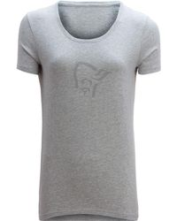 Norrøna - /29 Organic Cotton Logo T-shirt - Short-sleeve - Lyst