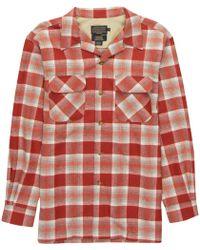 Pendleton - Original Board Shirt In Ultrafine Merino Wool - Lyst