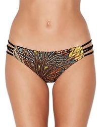 L*Space - Low Down Reversible Print Bikini Bottom - Lyst