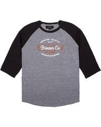 Brixton - Concord 3/4-sleeve T-shirt - Lyst