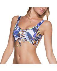 Maaji - Blue Cacique Fashion Bikini Top - Lyst