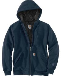 ce7670451 Carhartt - Rain Defender Rockland Quilted Lined Full-zip Hoodie - Lyst