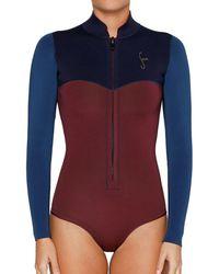 Seea Swimwear - Carmel 2mm Yulex Spring Suit - Lyst