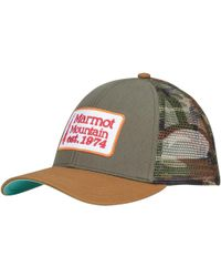 Marmot - Retro Trucker Hat - Lyst