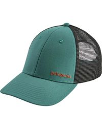 c58144ce8e37c Lyst - Patagonia Eat Local Upstream Lopro Trucker Hat in Gray for Men