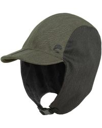 2674d415f3f037 Woolrich Trapper Hat in Green for Men - Lyst