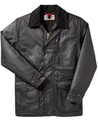 Filson - Cover Cloth Mile Marker Coat - Seattle Fit - Lyst