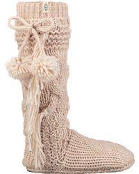 UGG - Cozy Slipper Sock - Lyst