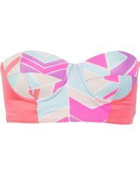 Zinke - Starboard Bustier Bikini Top - Lyst