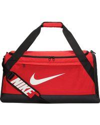 0330493cf2 Lyst - Nike Brasilia 6 Duffel Graphic Small in Green for Men