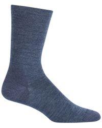 Icebreaker - Lifestyle Fine Gauge Solid Crew Sock - Lyst