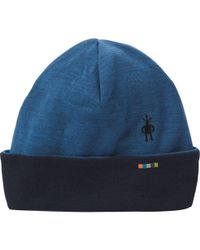b1fea76d380 Lyst - Smartwool Heritage Square Hat in Blue for Men