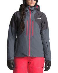 2183dba21f14 Lyst - The North Face Superlu Weatherproof Hooded Ski Jacket in Blue