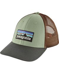 d2a9816bf56 Lyst - Patagonia P-6 Lopro Trucker Hat in Green for Men