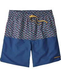 41ef7a09e913c Patagonia - Stretch Wavefarer 17in Volley Short - Lyst