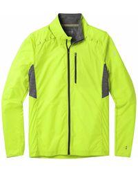 Smartwool Merino Sport Ultra Light Hooded Jacket - Green