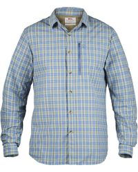 9a16c0bb7ba Columbia Titanium Featherweight Hike Shirt - Long-sleeve in Blue for Men -  Lyst