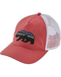 Patagonia - Fitz Roy Bear Layback Trucker Hat - Lyst
