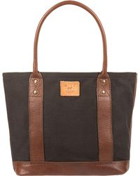 Will Leather Goods - Signature Canvas & Leather Everyday Tote - Lyst