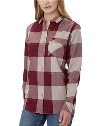 Tentree - Kimberly Long-sleeve Button Up Shirt - Lyst