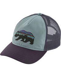 2aad7d79fad Patagonia - Fitz Roy Bear Layback Trucker Hat - Lyst