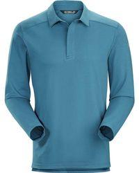 Arc'teryx - Captive Long-sleeve Polo Shirt - Lyst