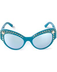 Versace Studsladies Sunglasses - Lyst