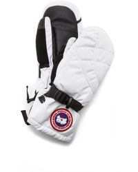 Canada Goose - Down Mittens - Lyst
