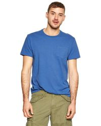 Gap Essential Pocket Tshirt - Lyst