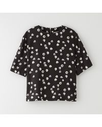 Band Of Outsiders Raspberries Tshirt W Back Zip - Lyst
