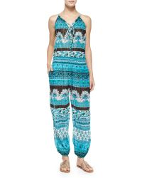 Calypso St. Barth - Multipattern Cappi Jumpsuit - Lyst