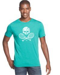 Nike Skull And Racquet Dri-Fit Performance T-Shirt - Lyst