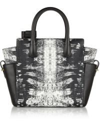 Reed Krakoff Atlantique Mini Printed Leather Tote - Lyst