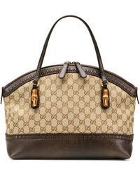 Gucci Laidback Crafty Medium Original Gg Canvas Bag - Lyst
