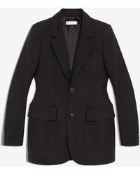 Balenciaga - Hourglass Single Breasted Jacket - Lyst
