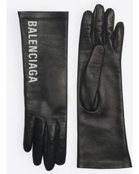 Balenciaga - Leather Gloves - Lyst