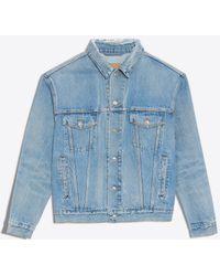 Balenciaga - Like A Man Denim Jacket - Lyst