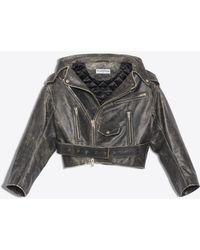 Balenciaga - Vintage Swing Biker Jacket - Lyst