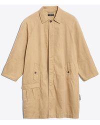 Balenciaga - Creased Carcoat - Lyst