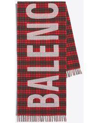 "Balenciaga - Bufanda logotipo """" - Lyst"