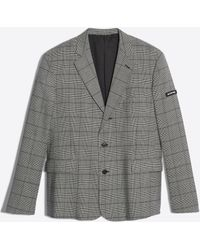 Balenciaga - Light Single Breasted Jacket - Lyst