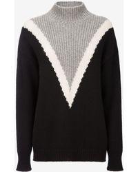 Bally - Oversized V Cashmere Sweater - Lyst