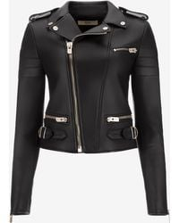 Bally - Nappa Leather Jacket - Lyst