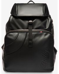 Bally - Shake Leather Backpack - Lyst