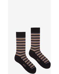 Bally - X Tabio Striped Short Socks - Lyst